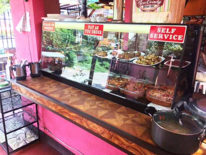 フィリピンのローカルレストラン
