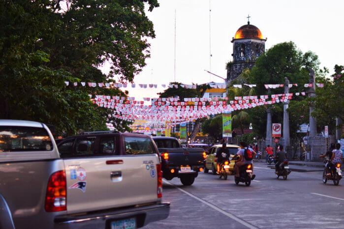 フィリピンの学園都市ドゥマゲテ