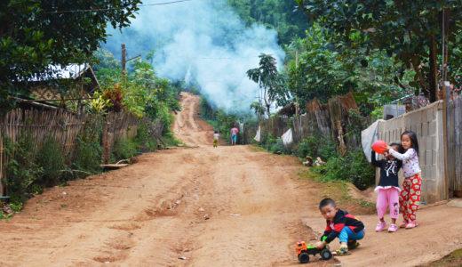 メーホンソンからミャンマー国境の村に行く方法